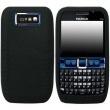 Funda Silicona Nokia E63 Negra