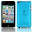 Carcasa trasera Ipod Touch 4 Azul Semitransparente