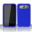 Funda Silicona HTC HD7 Azul