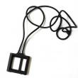 Colgante Silicona Ipod Nano 6 Negro