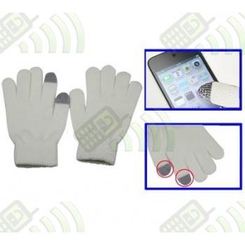 Guantes doble rizo Pantalla capacitiva de móvil, iphone, ipad...