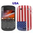 Carcasa trasera América blackberry 9900
