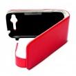 Funda Solapa HTC Sensation roja