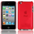 Carcasa trasera Ipod Touch 4 Roja Cristal