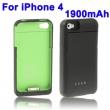 Batería Externa Iphone y ipod 1900mA Verde