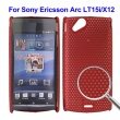 Carcasa Sony Ericsson Xperia Arc LT15i Roja