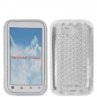 Funda Gel Motorola MB525/ME525/Defy Transparente Diamond