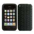 Funda Silicona Iphone 3G/3GS Negra Diseño Neumático