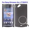 Carcasa Perforada Sony Ericsson Xperia Arc HD Lt25i Negra