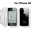 Prot. Pantalla 3 en 1 Protección Lateral + Trasera + Frontal iphone 4S