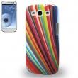Carcasa Samsung Galaxy S3 i9300 Rayos de Colores
